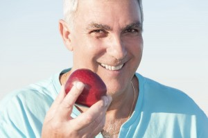 Getting older doesn't have to mean you lose your teeth.