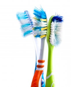 How to Brush - Old Toothbrushes