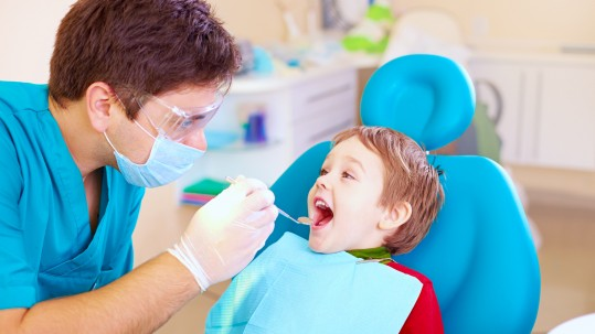 First Dental Exam is offered by our Yuba City family dentist