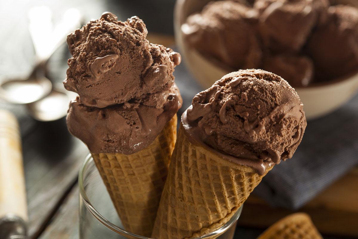 Ice cream is a common food that affects people with tooth sensitivity.