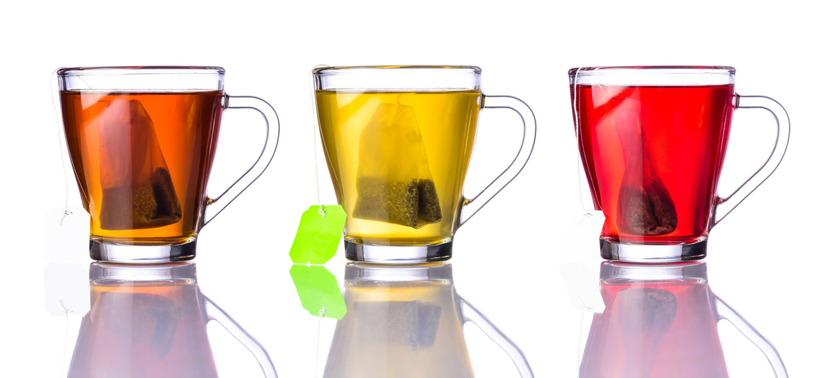 Teas are one of the seven worst staining foods and beverages.