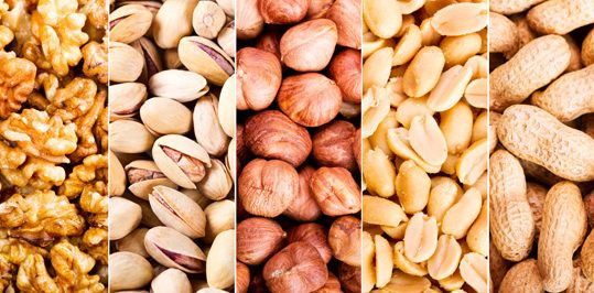 Nuts are amongst the products that help you get enough calcium for your teeth.