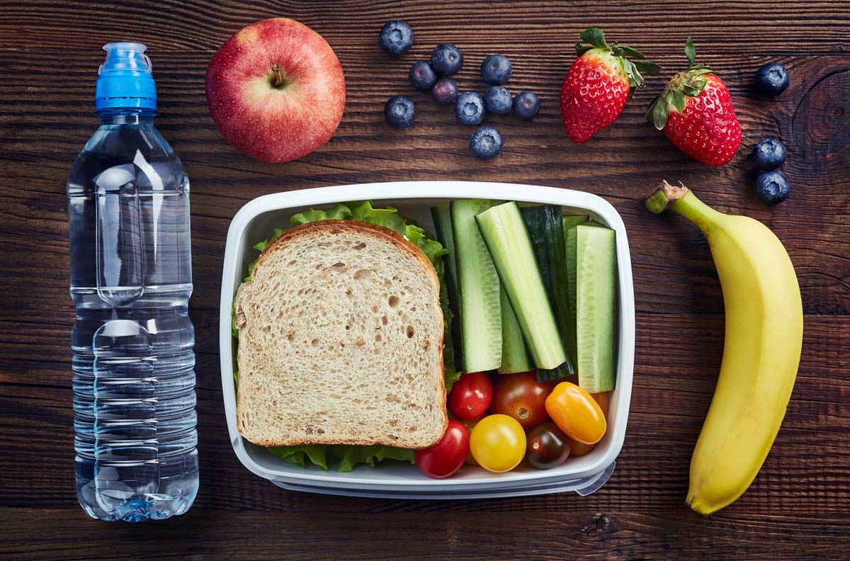 Good school lunches are good for the teeth, according to our Yuba City dentist.