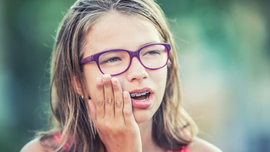 Braces can be painful. The Yuba City Dentistry Group discusses why.