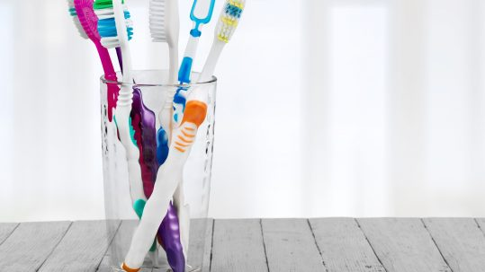Sanitized Toothbrush